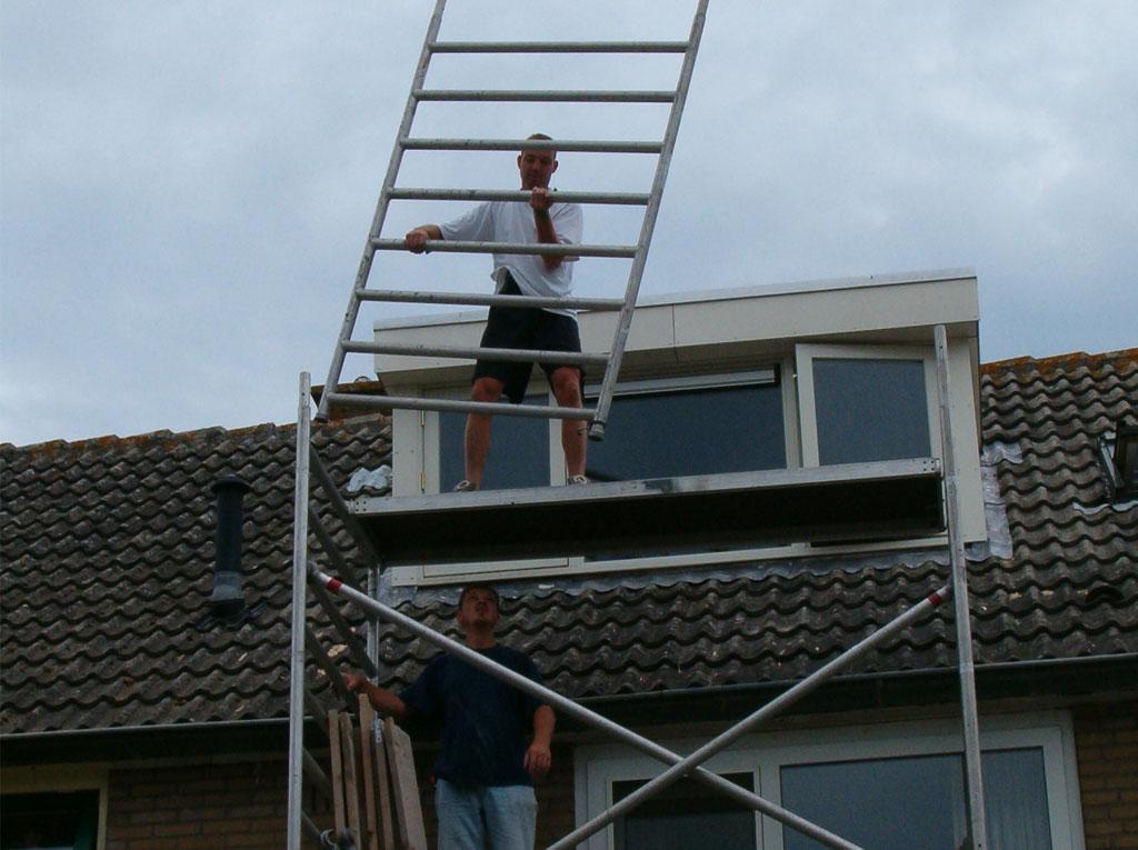 aanleg dakkapel